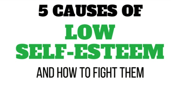 THE 5 PHASES OF FIGHTING LOW SELF-ESTEEM