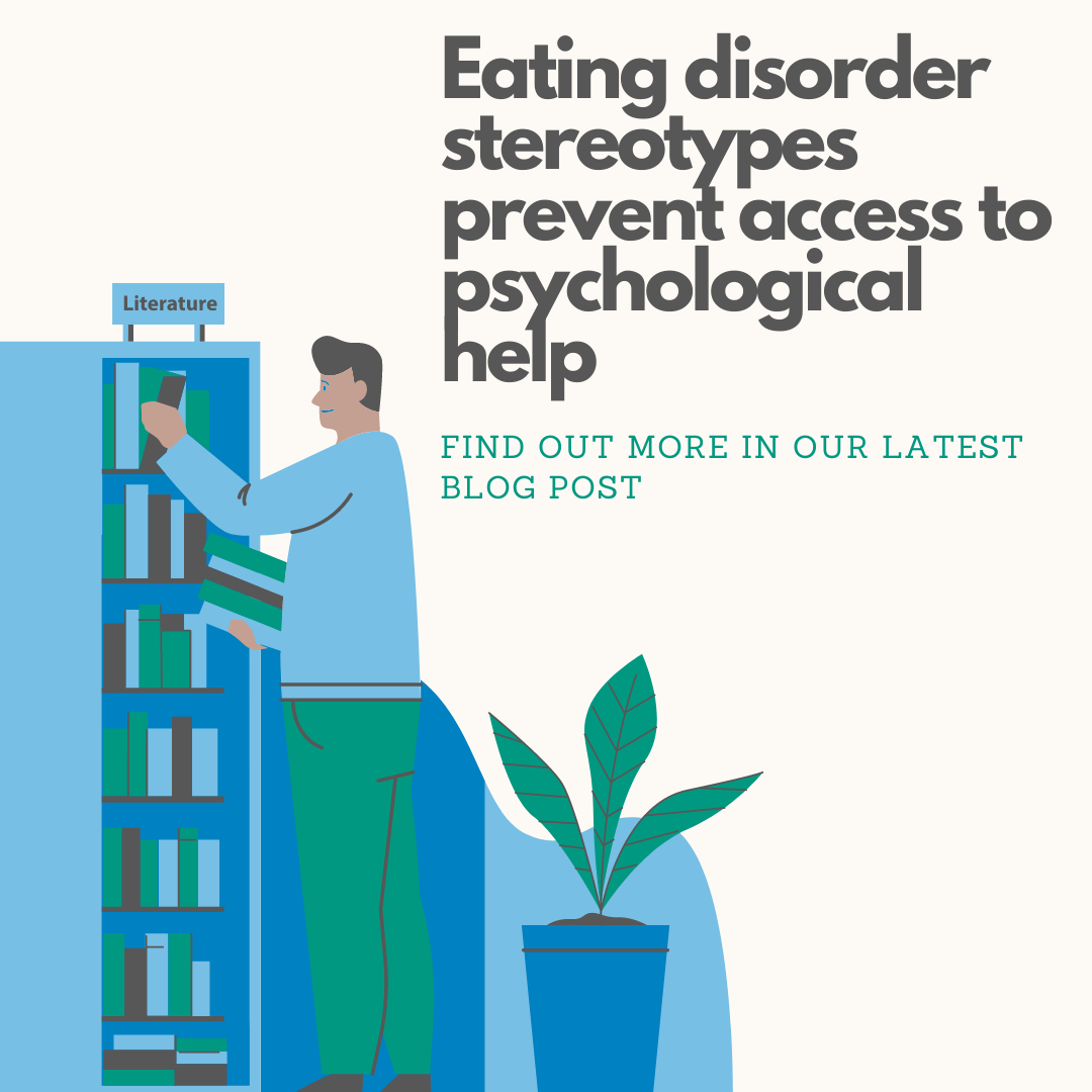 Eating disorder stereotypes prevent access to psychological help